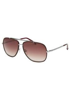 Lacoste Women's Aviator Brown Sunglasses