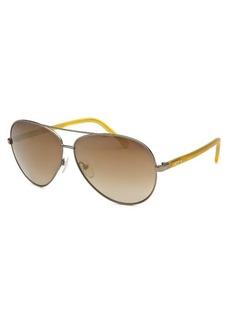 Lacoste Women's Aviator Gunmetal Sunglasses