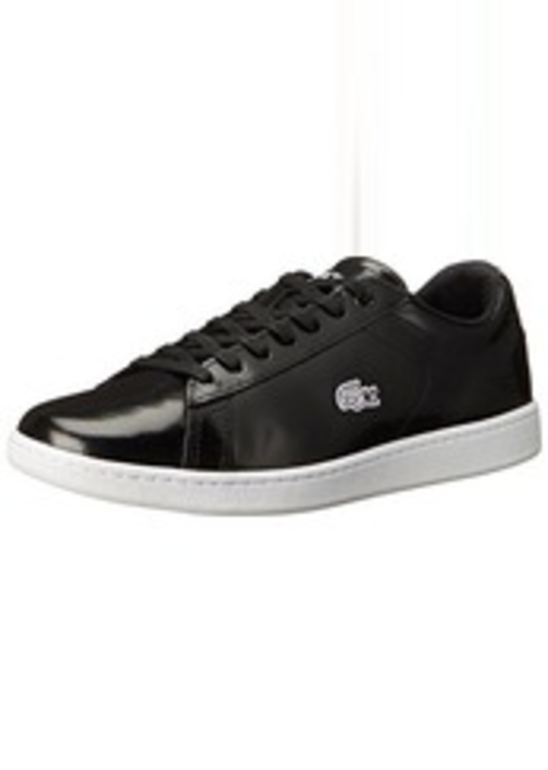 lacoste lacoste women 39 s carnaby evo prv fashion sneaker black black 8 5 m us shoes shop it. Black Bedroom Furniture Sets. Home Design Ideas