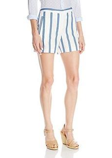 Lacoste Women's Multi Printed Stripe Short