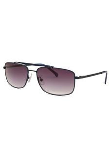 Lacoste Women's Rectangle Blue Sunglasses