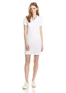 Lacoste Women's Short-Sleeve Classic Pique Polo Dress