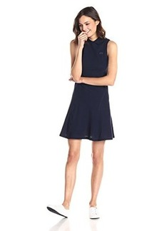 Lacoste Women's Sleeveless Fit-and-Flare Polo Dress