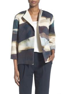 Lafayette 148 New York 'Mariska - Visionaire Verve' Cotton Twill Jacket (Regular & Petite)