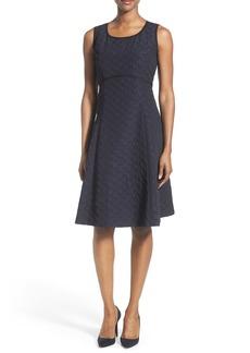 Lafayette 148 New York 'Shawn - Cityscape' A-Line Dress