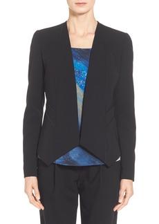Lafayette 148 New York 'Sukie' Sleek Tech Cloth Jacket