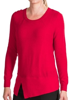 Lafayette 148 New York Aerial Voile Cutaway Sweater (For Women)
