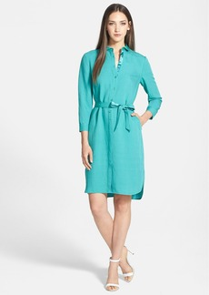 Lafayette 148 New York 'Agner - Enclave Cloth' Shirtdress