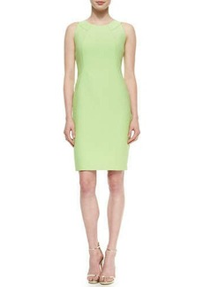 Lafayette 148 New York Alora Eloquent Cloth Sheath Dress