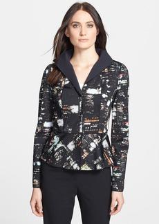 Lafayette 148 New York 'Amanda - Metro Cityscape' Jacket
