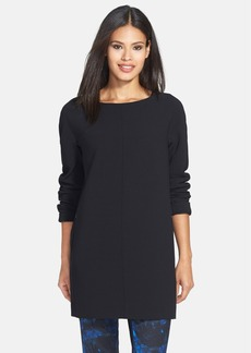 Lafayette 148 New York 'Amara' Stretch Wool Tunic Top