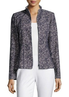 Lafayette 148 New York Amia Winsome Novelty Jacket