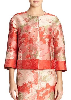 Lafayette 148 New York Amity Floral Jacket