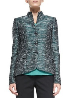 Lafayette 148 New York Andy Metallic Tweed Jacket
