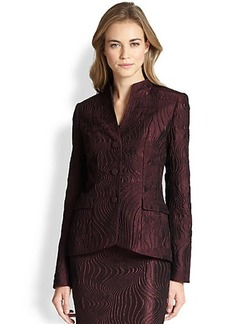 Lafayette 148 New York Andy Scroll Jacquard Jacket