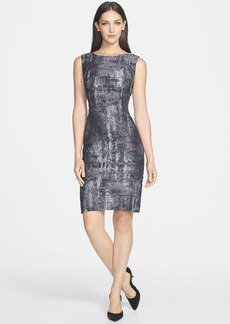Lafayette 148 New York 'Angelina' Jacquard Sheath Dress