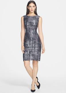 Lafayette 148 New York 'Angelina' Jacquard Sheath Dress