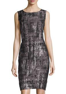 Lafayette 148 New York Angelina Printed Sheath Dress