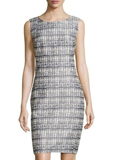 Lafayette 148 New York Angelina Sleeveless Metallized Dress
