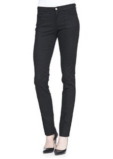Lafayette 148 New York Animal-Print Skinny Jeans