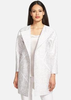 Lafayette 148 New York 'Anissa' Cotton & Silk Jacquard Topper