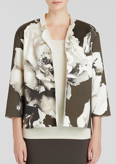 Lafayette 148 New York Anne Floral Print Jacket