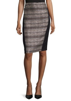 Lafayette 148 New York Ariella Paneled Pencil Skirt