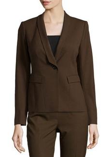 Lafayette 148 New York Ashley Shawl-Collar Jacket