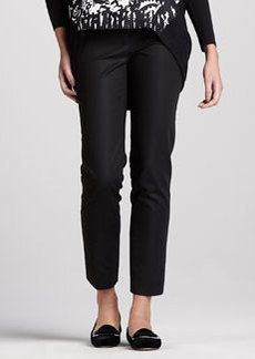 Lafayette 148 New York Astor Slim Cropped Pants
