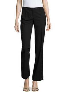 Lafayette 148 New York Astor Straight-Leg Pants, Black