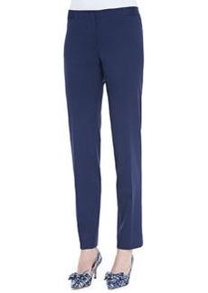 Lafayette 148 New York Astor Stretch Crepe Slim-Leg Pants