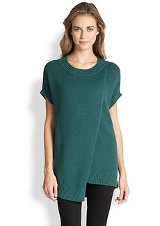 Lafayette 148 New York Asymmetrical Layered Sweater