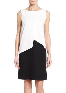 Lafayette 148 New York Asymmetrical Punto Milano Shift Dress