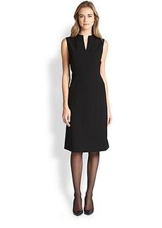 Lafayette 148 New York Ava High-Collar Dress