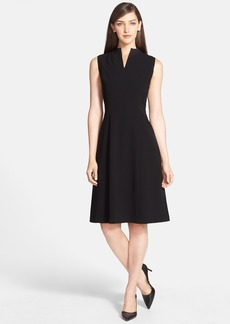 Lafayette 148 New York 'Ava' Tech Cloth Fit & Flare Dress
