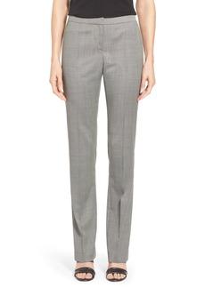 Lafayette 148 New York 'Barrow - Hayworth' Stretch Wool Suiting Pants