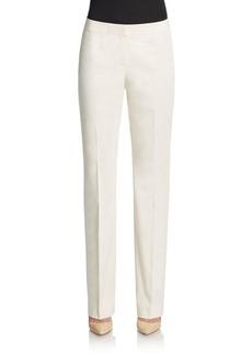 Lafayette 148 New York Barrow Stretch Cotton Trousers
