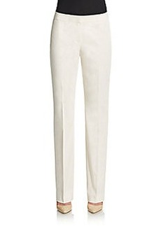 Lafayette 148 New York Barrow Stretch Cotton Trousers