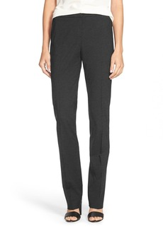Lafayette 148 New York 'Barrow' Stretch Wool Pants (Regular & Petite)