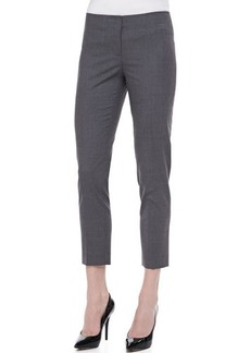 Lafayette 148 New York Basic Skinny Cropped Pants