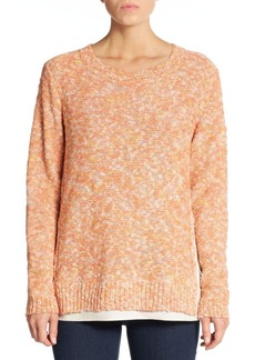 Lafayette 148 New York Bate Marled-Knit Sweater