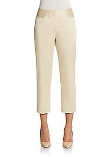Lafayette 148 New York Baxter Cropped Trouser Pants