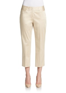 Lafayette 148 New York Baxter Cropped Trousers
