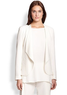 Lafayette 148 New York Becca Draped Open-Front Jacket