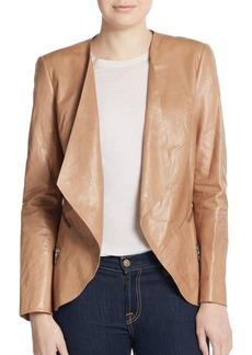 Lafayette 148 New York Becca Leather Jacket