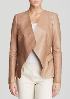 Lafayette 148 New York Becca Leather Jacket