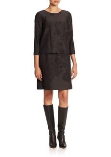 Lafayette 148 New York Belinda Floral Jacquard Dress