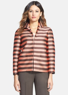 Lafayette 148 New York 'Bellene' Stripe Jacket