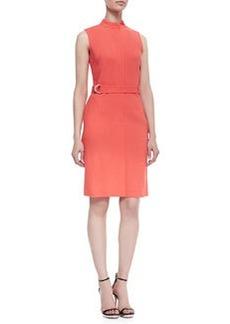 Lafayette 148 New York Belted Sleeveless Dress, Day Glow