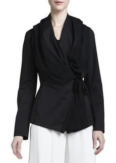 Lafayette 148 New York Bethany Georgette-Trim Jacket